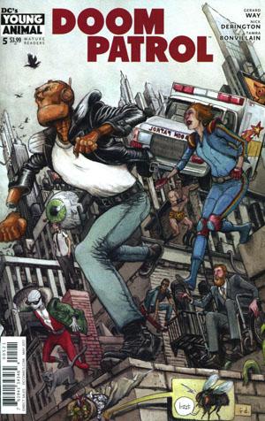 Doom Patrol Vol 6 #5 Cover B Variant Farel Dalrymple Cover