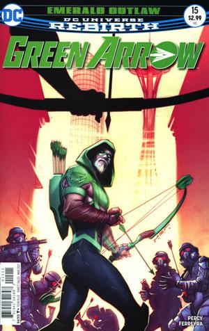 Green Arrow Vol 7 #15 Cover A Regular Juan Ferreyra Cover
