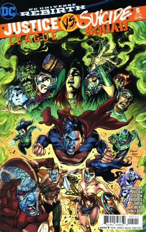 Justice League vs Suicide Squad #5 Cover A Regular Robson Rocha Cover