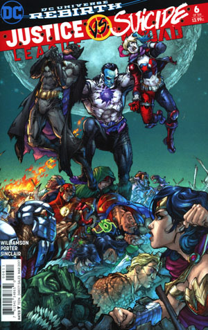 Justice League vs Suicide Squad #6 Cover A Regular Howard Porter Cover
