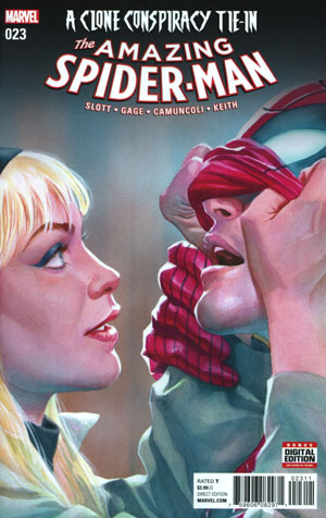 Amazing Spider-Man Vol 4 #23 Cover A Regular Alex Ross Cover (Clone Conspiracy Tie-In)
