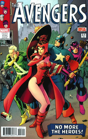Avengers Vol 6 #3.1 Cover A Regular Barry Kitson Cover