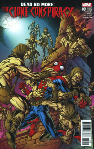 Clone Conspiracy #4 Cover C Variant Mark Bagley Cover