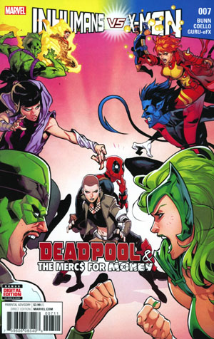 Deadpool And The Mercs For Money Vol 2 #7 Cover A Regular Iban Coello Cover (Inhumans vs X-Men Tie-In)