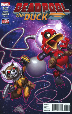Deadpool The Duck #2 Cover A Regular David Nakayama Cover (Marvel Now Tie-In)