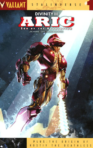 Divinity III Aric Son Of The Revolution #1 Cover A Regular Clayton Crain Cover