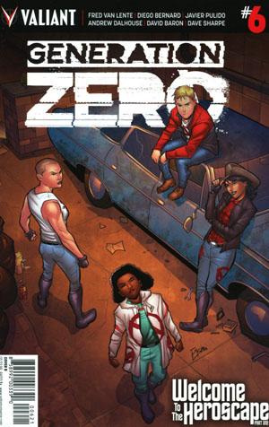 Generation Zero #6 Cover B Variant Joe Eisma Cover