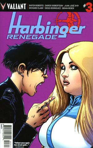 Harbinger Renegade #3 Cover A Regular Darick Robertson Cover