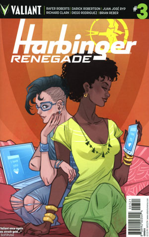 Harbinger Renegade #3 Cover B Variant Marguerite Sauvage Cover
