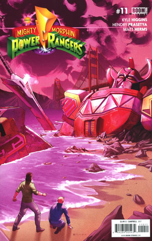 Mighty Morphin Power Rangers (BOOM Studios) #11 Cover A Regular Jamal Campbell Cover