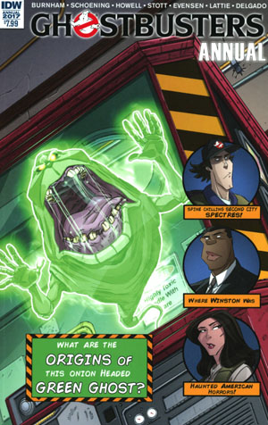 Ghostbusters Annual 2017 Cover A Regular Dan Schoening Cover