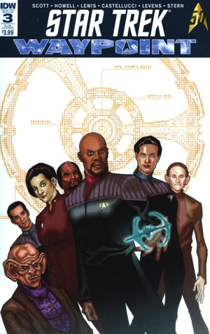 Star Trek Waypoint #3 Cover B Variant David Messina Subscription Cover