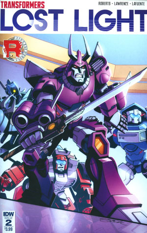 Transformers Lost Light #2 Cover A Regular Jack Lawrence Cover