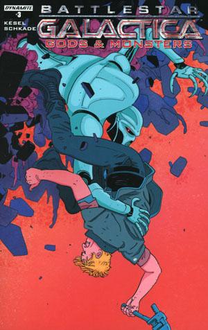 Battlestar Galactica Gods & Monsters #3 Cover A Regular Alec Morgan Cover