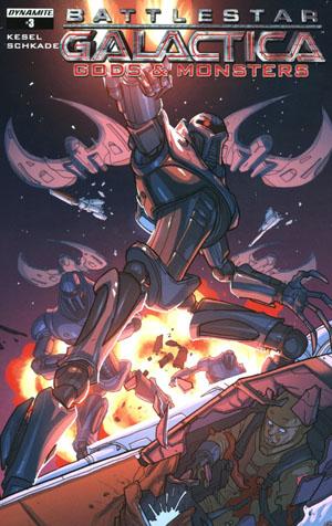 Battlestar Galactica Gods & Monsters #3 Cover B Variant Pete Woods Cover