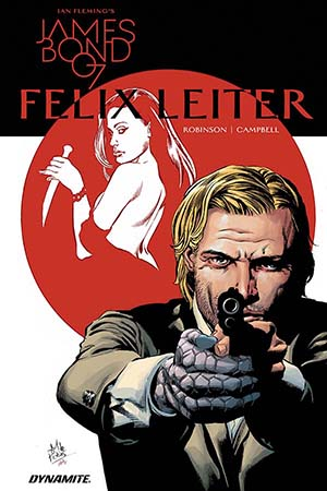 James Bond Felix Leiter #1 Cover A Regular Mike Perkins Cover