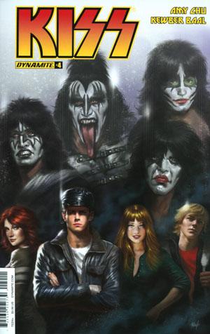 KISS Vol 3 #4 Cover A Regular Lucio Parillo Cover