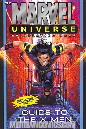 Marvel Universe RPG Guide To The X-Men HC