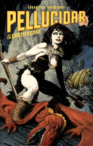Edgar Rice Burroughs Pellucidar At The Earths Core TP