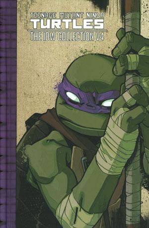 Teenage Mutant Ninja Turtles IDW Collection Vol 4 HC