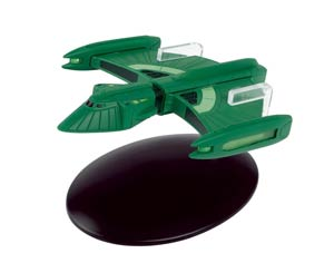 Star Trek Starships Figure Collection Magazine #90 Romulan Scout Ship