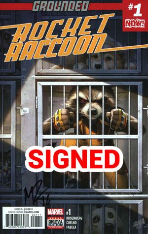 Rocket Raccoon Vol 3 #1 Cover G Regular David Nakayama Cover Signed By Matthew Rosenberg