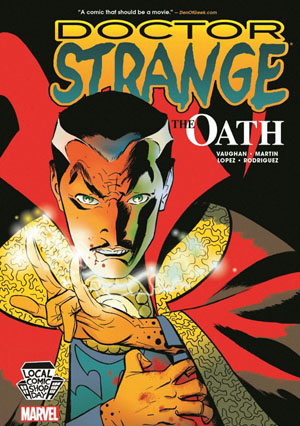 LCSD 2016 Doctor Strange The Oath HC