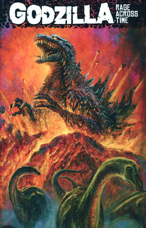 Godzilla Rage Across Time TP
