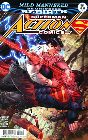 Action Comics Vol 2 #974 Cover A Regular Clay Mann Cover