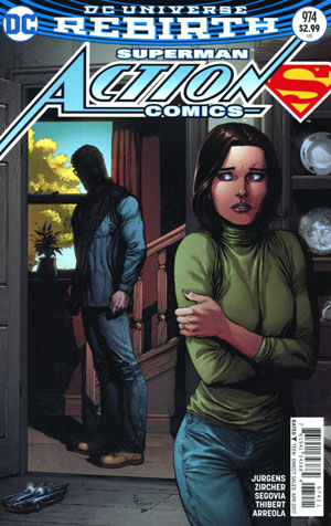Action Comics Vol 2 #974 Cover B Variant Gary Frank Cover