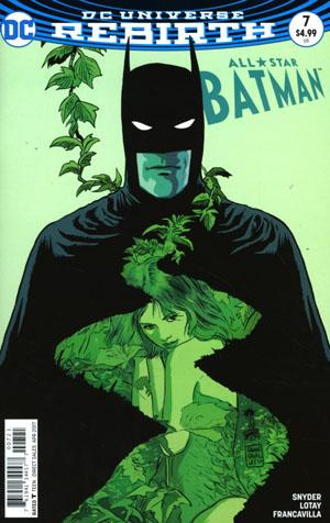 All-Star Batman #7 Cover B Variant Francesco Francavilla Cover
