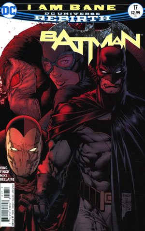 Batman Vol 3 #17 Cover A Regular David Finch Cover
