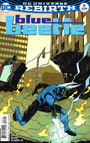 Blue Beetle (DC) Vol 4 #6 Cover B Variant Cully Hamner Cover