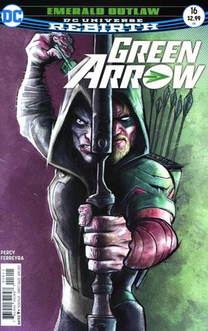 Green Arrow Vol 7 #16 Cover A Regular Juan Ferreyra Cover