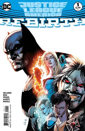 Justice League Of America Rebirth #1 Cover A Regular Ivan Reis Cover