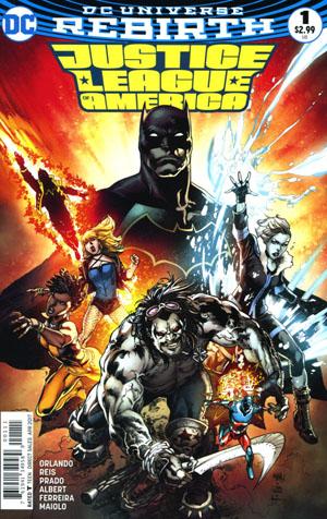 Justice League Of America Vol 5 #1 Cover A Regular Ivan Reis Cover