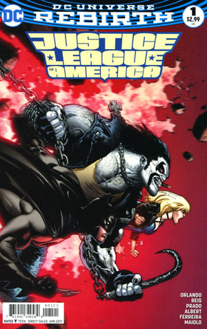 Justice League Of America Vol 5 #1 Cover B Variant Mark Brooks Cover