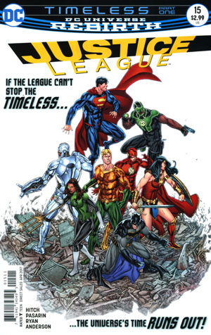 Justice League Vol 3 #15 Cover A Regular Fernando Pasarin & Matt Ryan Cover