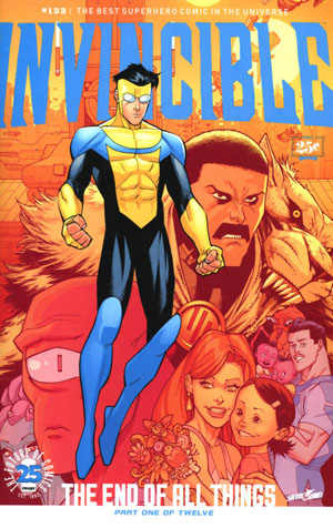 Invincible #133 Cover A Regular Ryan Ottley & Nathan Fairbairn Cover