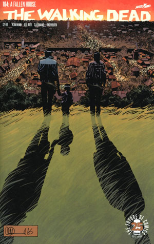 Walking Dead #164 Cover A Regular Charlie Adlard & Dave Stewart Cover