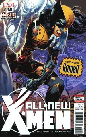 All-New X-Men Vol 2 #1.MU Cover A Regular Adam Kubert Cover (Monsters Unleashed Tie-In)