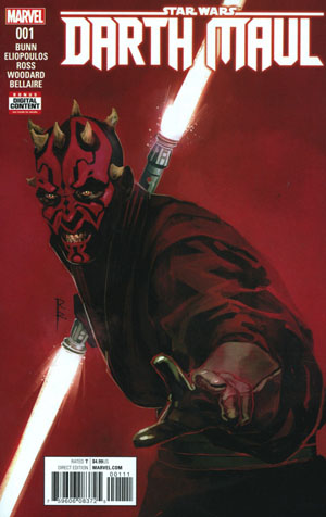 Star Wars Darth Maul #1 Cover A 1st Ptg Regular Rod Reis Cover