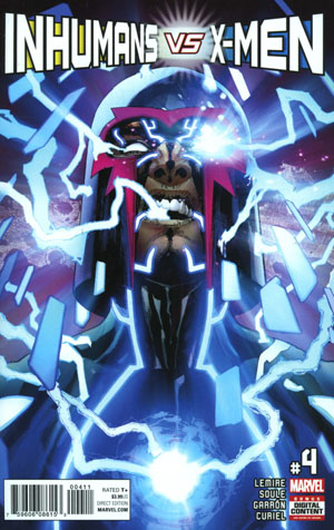 Inhumans vs X-Men #4 Cover A Regular Leinil Francis Yu Cover