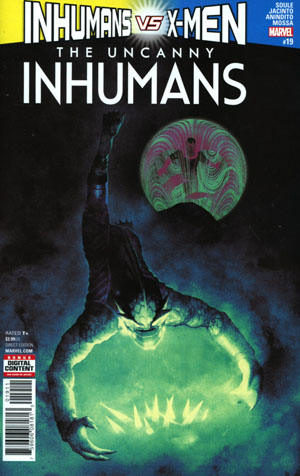 Uncanny Inhumans #19 Cover A Regular Frazer Irving Cover (Inhumans vs X-Men Tie-In)