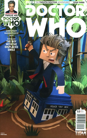 Doctor Who 12th Doctor Year Three #2 Cover C Variant Papercraft Cover