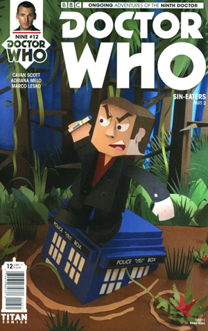 Doctor Who 9th Doctor Vol 2 #12 Cover C Variant Papercraft Cover
