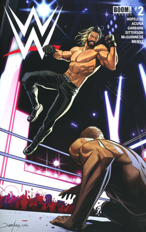 WWE #2 Cover A Regular Dan Mora Cover