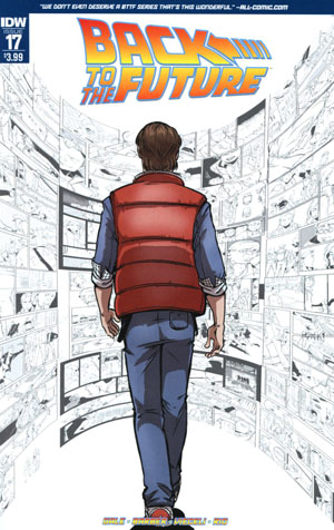 Back To The Future Vol 2 #17 Cover A Regular Emma Viecelli Cover
