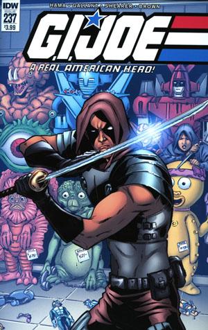 GI Joe A Real American Hero #237 Cover A Regular SL Gallant Cover