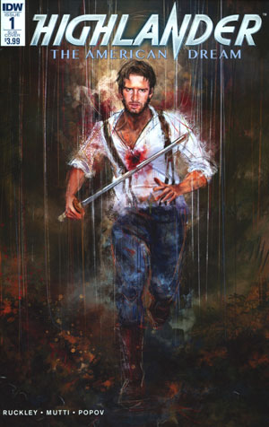 Highlander American Dream #1 Cover B Variant Claudia Gironi Subscription Cover